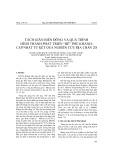 """Tách giãn biển Đông và quá trình hình thành phát triển """"bể"""" Phú Khánh: cập nhật từ kết quả nghiên cứu địa chấn 2D"""