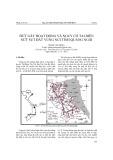 Đứt gãy hoạt động và nguy cơ tai biến nứt sụt đất vùng núi tỉnh Quảng Ngãi