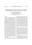 Ứng dụng phương pháp trọng số bằng chứng trong tìm kiếm quặng wolfram vùng Pleimeo, tỉnh Kon Tum