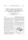 Nghiên cứu nhạy cảm và phân vùng nguy cơ trượt - lở đất khu vực hồ thủy điện Sơn La theo phương pháp phân tích cấp bậc saaty