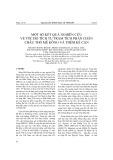 Một số kết quả nghiên cứu về tốc độ tích tụ trầm tích phần chân châu thổ Mê Kông và thềm kế cận