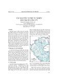 Tài nguyên vị thế tự nhiên đảo Bạch Long Vỹ