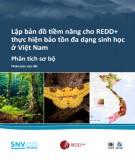 Lập bản đồ tiềm năng cho REDD thực hiện bảo tồn đa dạng sinh học ở Việt Nam