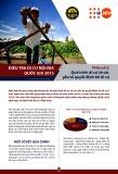Điều tra di cư nội địa quốc gia 2015 - Tờ tin số 3: Quá trình di cư và các yếu tố quyết định tới di cư