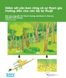 Giám sát các-bon rừng có sự tham gia hướng dẫn cho cán bộ kỹ thuật