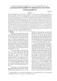 Tóm tắt kết quả đề tài nghiên cứu và các công bố liên quan về: Làm giàu rừng khộp suy thoái bằng cây tếch (tectona grandis L.F.)