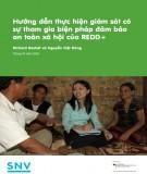 Hướng dẫn thực hiện giám sát có sự tham gia biện pháp đảm bảo an toàn xã hội của REDD+
