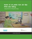 Quản lý và phân tích dữ liệu PFM Lâm Đồng