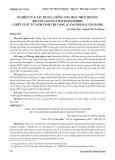 Nghiên cứu tác dụng chống oxy hóa theo hướng bảo vệ gan của polysaccharid chiết xuất từ nấm linh chi (ganoderma colossum)