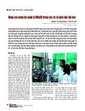 Nâng cao năng lực quản lý khoa học và công nghệ trong các cơ sở giáo dục đại học