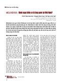 Melioidosis - Bệnh nguy hiểm có bị lãng quên tại Việt Nam