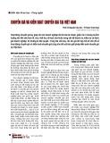 Chuyển giá và kiểm soát chuyển giá tại Việt Nam
