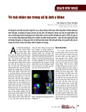 Trí tuệ nhân tạo trong xử lý ảnh y khoa