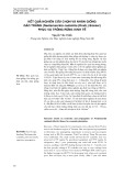 Kết quả nghiên cứu chọn và nhân giống gáo trắng (neolamarckia cadamba (roxb.) bosser) phục vụ trồng rừng kinh tế