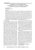 Ảnh hưởng của độ tuổi khai thác đến tính chất vật lý và cơ học của ván bóc gỗ keo tai tượng (acacia mangium willd)