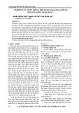 Nghiên cứu nhân giống kim giao (nageia fleuryi) bằng phương pháp giâm hom