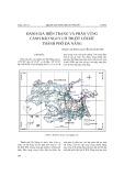 Đánh giá hiện trạng và phân vùng cảnh báo nguy cơ trượt lở đất Thành phố Đà Nẵng