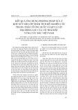 Kết quả ứng dụng phương pháp xử lý khe nứt nội lớp trầm tích để nghiên cứu trạng thái cổ ứng suất và quy luật địa động lực của vỏ Trái Đất vùng Tây Bắc Việt Nam