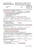 Đề thi học kì 1 môn Sinh học 12 năm 2017-2018 có đáp án - Trường THPT Lương Ngọc Quyến - Mã đề 013