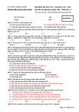 Đề thi học kì 1 môn Sinh học 12 năm 2017-2018 có đáp án - Trường THPT Lương Ngọc Quyến - Mã đề 010