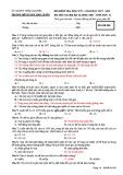 Đề thi học kì 1 môn Sinh học 12 năm 2017-2018 có đáp án - Trường THPT Lương Ngọc Quyến - Mã đề 009