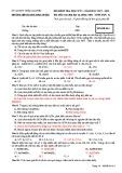 Đề thi học kì 1 môn Sinh học 12 năm 2017-2018 có đáp án - Trường THPT Lương Ngọc Quyến - Mã đề 014