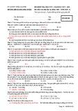 Đề thi học kì 1 môn Sinh học 12 năm 2017-2018 có đáp án - Trường THPT Lương Ngọc Quyến - Mã đề 002