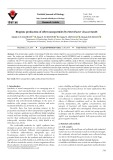 Biogenic production of silver nanoparticles by Enterobacter cloacae Ism26