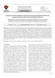 Assessment of Iranian endemic Artemisia khorassanica: karyological, genome size, and gene expressions involved in artemisinin production