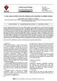 In vitro anticancer effect of tricyclic antidepressant nortriptyline on multiple myeloma