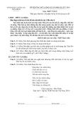 Đề thi học kì 2 môn Ngữ văn 9 năm 2017-2018 có đáp án - Sở GD&ĐT Thái Bình