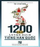 Tiếng Hàn Quốc và 1200 câu luyện dịch: Phần 2