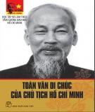 Chủ tịch Hồ Chí Minh - Toàn văn di chúc của Người