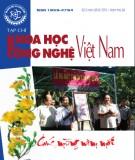 Tạp chí khoa học và công nghệ Việt Nam số 2 năm 2018