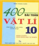 Vật lí 10 và 400 bài toán cơ bản: Phần 2