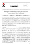 Stimulation of dendritic cells with vaccine and vaccine–antibody complex and effect on immune response