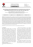 Role of plant growth promoting rhizobacteria on antioxidant enzyme activities and tropane alkaloid production of Hyoscyamus niger under water deficit stress