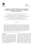 A preliminary attempt for efficient genetic transformation and regeneration of legume Mucuna pruriens L. mediated by Agrobacterium tumefaciens