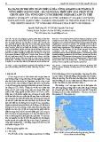 Đa dạng di truyền quần thể cá dìa công (Siganus guttatus) ở vùng biển Quảng Nam - Đà Nẵng dựa trên kết quả phân tích chuỗi ADN của vùng gen Cytochrome Oxidase I ADN ty thể