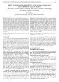 Phân tích họ gene KNOX ở cây dứa (Ananas comosus L.) bằng phương pháp in silico