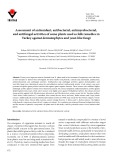 Assessment of antioxidant, antibacterial, antimycobacterial, and antifungal activities of some plants used as folk remedies in Turkey against dermatophytes and yeast-like fungi