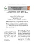 Đánh giá thực trạng xây dựng và phát triển nhóm nghiên cứu mạnh ở Đại học Quốc gia Hà Nội