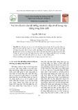 Vai trò của trò của hệ thống chính trị cấp cơ sở trong xây dựng nông thôn mới