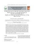 Sử dụng chính sách tài chính điều chỉnh luồng di động xã hội nhân lực khoa học và công nghệ chất lượng cao trong bối cảnh hội nhập quốc tế (Nghiên cứu trường hợp Viện Hàn lâm Khoa học và Công nghệ Việt Nam)
