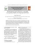 Mô hình tham gia quản lý khoa học và công nghệ của cộn đồng: Nghiên cứu trường hợp tỉnh Hà Nam