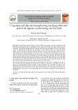 Ứng dụng cách tiếp cận foresight trong xây dựng chính sách quản lý tài nguyên và môi trường của Việt Nam