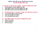 Bài giảng Kế toán chi phí - Chương 1: Những vấn đề chung về kế toán chi phí - Doanh nghiệp sản xuất