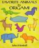 Ebook Favorite animals in origami - John Montroll
