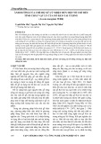 Ảnh hưởng của chế độ xử lý nhiệt đến một số chỉ tiêu tính chất vật lý của gỗ keo tai tượng (acacia mangium willd)