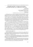 Thành phần hoá học của tinh dầu bách xanh đá (calocedrus rupestris aver., n.t.hiep & p.k. loc) ở Hà Giang